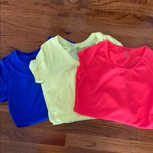Champion work out tops XS set of 3